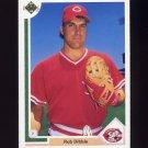 1991 Upper Deck Baseball #635 Rob Dibble - Cincinnati Reds