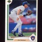1991 Upper Deck Baseball #618 Jim Gantner - Milwaukee Brewers