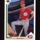 1991 Upper Deck Baseball #611 Ron Oester - Cincinnati Reds