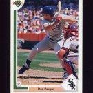 1991 Upper Deck Baseball #605 Dan Pasqua - Chicago White Sox