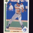 1991 Upper Deck Baseball #563 Junior Felix - Toronto Blue Jays