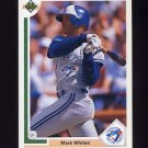 1991 Upper Deck Baseball #561 Mark Whiten - Toronto Blue Jays