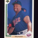 1991 Upper Deck Baseball #544 Kirby Puckett - Minnesota Twins