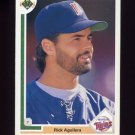 1991 Upper Deck Baseball #542 Rick Aguilera - Minnesota Twins