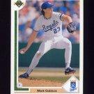 1991 Upper Deck Baseball #541 Mark Gubicza - Kansas City Royals