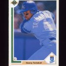 1991 Upper Deck Baseball #523 Danny Tartabull - Kansas City Royals