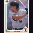 1991 Upper Deck Baseball #506 Joe Orsulak - Baltimore Orioles