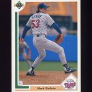 1991 Upper Deck Baseball #505 Mark Guthrie - Minnesota Twins