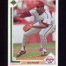 1991 Upper Deck Baseball #488 Ken Howell - Philadelphia Phillies