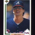 1991 Upper Deck Baseball #478 Marty Clary - Atlanta Braves