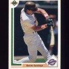 1991 Upper Deck Baseball #467 Benito Santiago - San Diego Padres