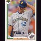 1991 Upper Deck Baseball #459 Pete O'Brien - Seattle Mariners