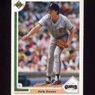 1991 Upper Deck Baseball #441 Kelly Downs - San Francisco Giants