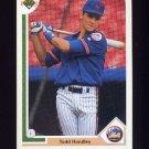 1991 Upper Deck Baseball #440 Todd Hundley - New York Mets