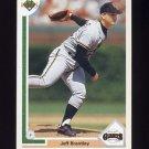 1991 Upper Deck Baseball #424 Jeff Brantley - San Francisco Giants