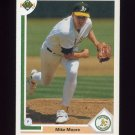 1991 Upper Deck Baseball #423 Mike Moore - Oakland A's