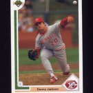 1991 Upper Deck Baseball #414 Danny Jackson - Cincinnati Reds