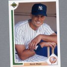 1991 Upper Deck Baseball #375 Kevin Maas - New York Yankees