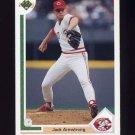 1991 Upper Deck Baseball #373 Jack Armstrong - Cincinnati Reds