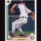 1991 Upper Deck Baseball #326 Gregg Olson - Baltimore Orioles