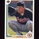 1991 Upper Deck Baseball #260 Jeff Ballard - Baltimore Orioles