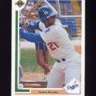 1991 Upper Deck Baseball #217 Hubie Brooks - Los Angeles Dodgers