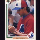 1991 Upper Deck Baseball #186 Dave Martinez - Montreal Expos