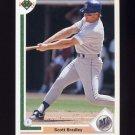 1991 Upper Deck Baseball #130 Scott Bradley - Seattle Mariners