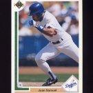 1991 Upper Deck Baseball #117 Juan Samuel - Los Angeles Dodgers