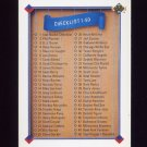 1991 Upper Deck Baseball #100 Checklist 1-100