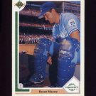 1991 Upper Deck Baseball #072 Brent Mayne - Kansas City Royals