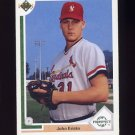 1991 Upper Deck Baseball #057 John Ericks - St. Louis Cardinals