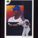 1991 Upper Deck Baseball #032 Seattle Mariners Team Checklist / Harold Reynolds