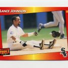 1992 Donruss Triple Play Baseball #239 Lance Johnson - Chicago White Sox