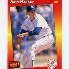 1992 Donruss Triple Play Baseball #228 John Habyan - New York Yankees