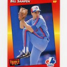 1992 Donruss Triple Play Baseball #221 Bill Sampen - Montreal Expos