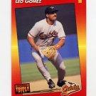 1992 Donruss Triple Play Baseball #131 Leo Gomez - Baltimore Orioles