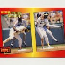 1992 Donruss Triple Play Baseball #130 Dave Henderson / Jerry Browne AA