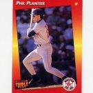 1992 Donruss Triple Play Baseball #120 Phil Plantier - Boston Red Sox