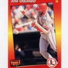 1992 Donruss Triple Play Baseball #118 Jose Oquendo - St. Louis Cardinals