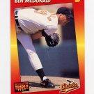 1992 Donruss Triple Play Baseball #105 Ben McDonald - Baltimore Orioles
