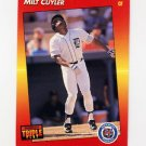 1992 Donruss Triple Play Baseball #100 Milt Cuyler - Detroit Tigers