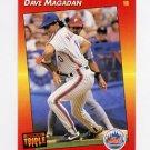 1992 Donruss Triple Play Baseball #082 Dave Magadan - New York Mets