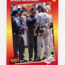 1992 Donruss Triple Play Baseball #080 Roger McDowell - Los Angeles Dodgers