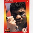 1992 Donruss Triple Play Baseball #075 Felix Jose - St. Louis Cardinals