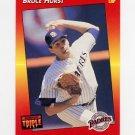 1992 Donruss Triple Play Baseball #057 Bruce Hurst - San Diego Padres