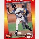1992 Donruss Triple Play Baseball #045 Robby Thompson - San Francisco Giants