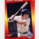 1992 Donruss Triple Play Baseball #044 Mickey Tettleton - Detroit Tigers