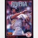 1993 Donruss Triple Play Baseball #246 Luis Rivera - Boston Red Sox
