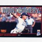 1993 Donruss Triple Play Baseball #236 Jeff Montgomery - Kansas City Royals
